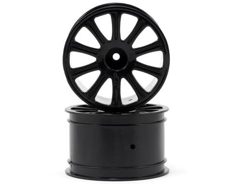 """JConcepts Rulux 1/16 E-Revo Wheel 2.2"""" Black (2) JCO3333B"""