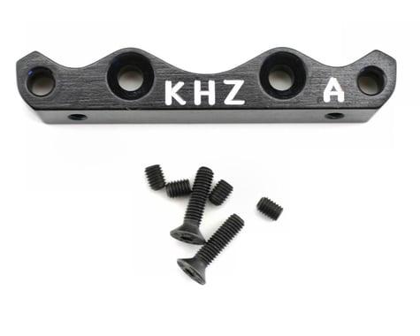 King Headz Kyosho MP777 Front Lower Suspension Holder (A) - Black