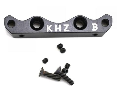 King Headz Kyosho MP777 Front Lower Suspension Holder (B) - Black