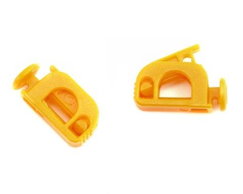 K & S Fuel Shutoff Clamp (Orange) (2)