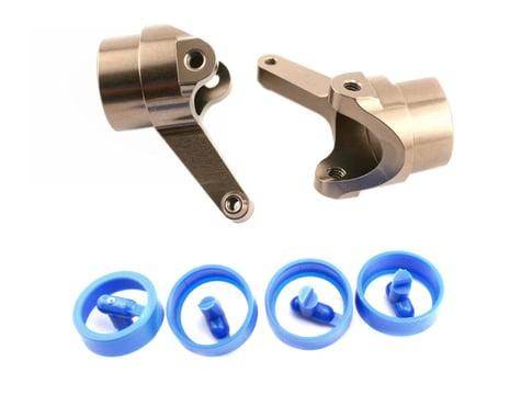 Kyosho CNC Aluminum Steering Knuckles (2)