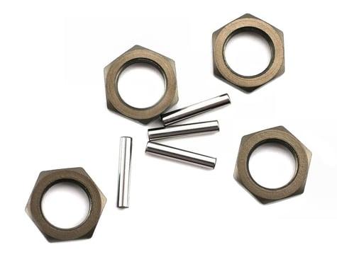 Losi Wheel Nut and Pin Hard Anodized 8IGHT (4) LOSA3531