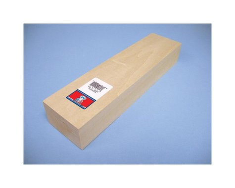 Midwest Basswood Carving Block 2x3x12 MID4421