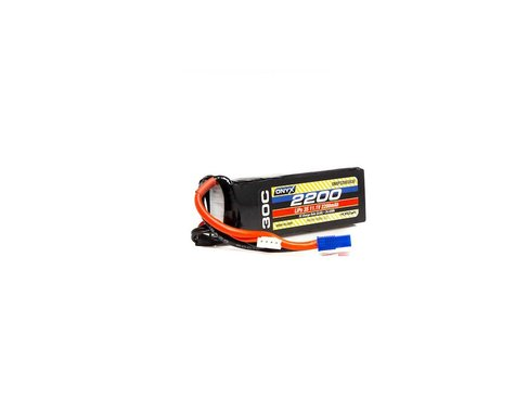 Onyx 2200mAh 3S 11.1V 30C LiPo EC3 Battery ONXP22003S30