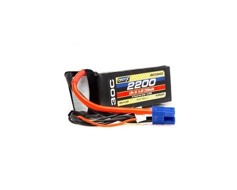 Onyx 2200mAh 4S 14.8V 30C LiPo EC3 Battery ONXP22004S30