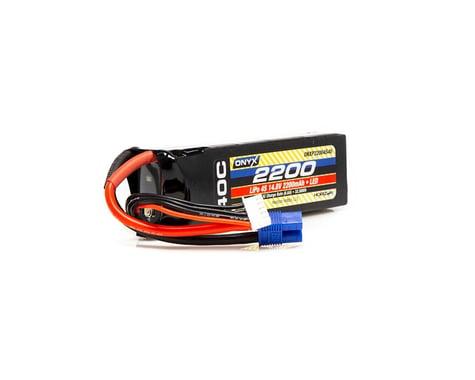 Onyx 2200mAh 4S 14.8V 40C LiPo EC3 LED Battery ONXP22004S40