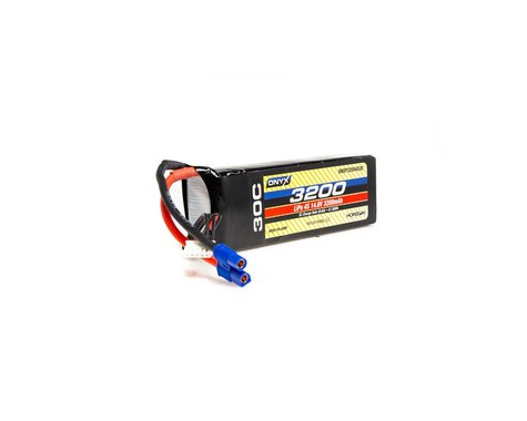 Onyx 3200mAh 4S 14.8V 30C LiPo EC3 Battery ONXP32004S30