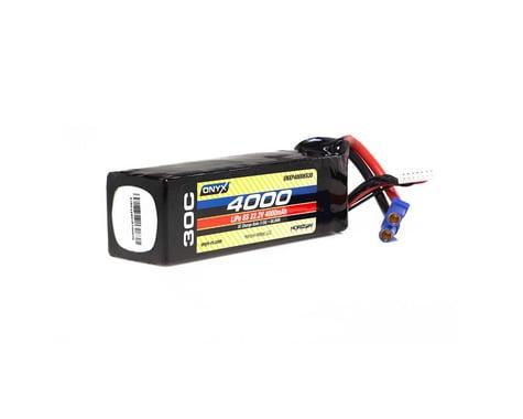 Onyx 4000mAh 6S 22.2V 30C LiPo EC5 Battery ONXP40006S30