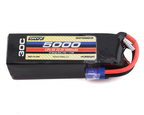 Onyx 5000mAh 6S 22.2V 30C LiPo EC5 Battery ONXP50006S30