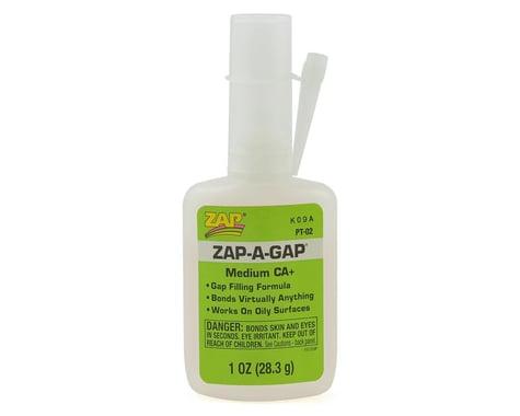 Zap Adhesives Zap A Gap CA+ Glue 1 oz Thick PAAPT02