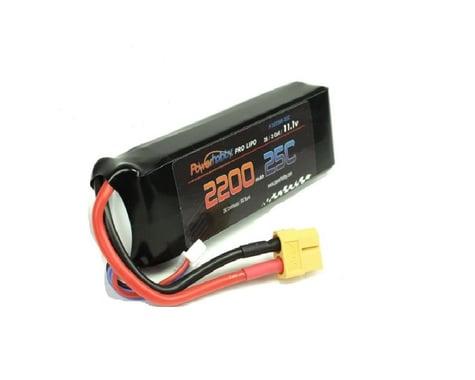 Power Hobby 3S 11.1V 2200mAh 25C LiPo Battery Pack with XT60 Plug PHB3S220025XT60