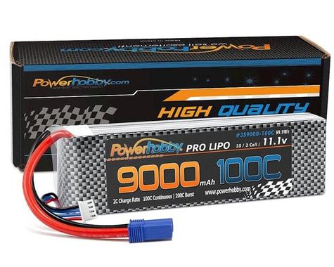Powerhobby 3S 11.1V 9000mah 100C-200 Lipo Battery with Deans PHB3S9000100CDNS