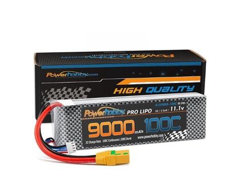Powerhobby 3S 11.1V 9000mah 100C-200 Lipo Battery with XT90 PHB3S9000100CXT90