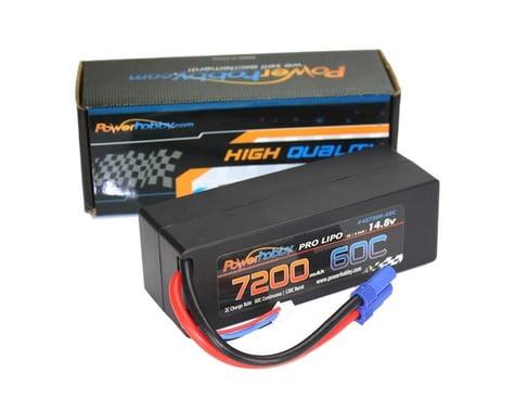Power Hobby 4S 14.8V 7200MAH 60C LiPo Battery with EC5 Hard Case PHB4S720060CEC5HCS