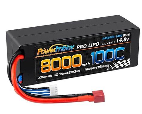 Powerhobby 4s 14.8V 8000MAH 100C Lipo Battery with Deans Plug PHB4S8000100CDNS
