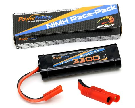 Power Hobby 7.2V 6-Cell 3300mAh NiMH Flat Battery Pack with RedCat 4.0 Plug PHBPH1502