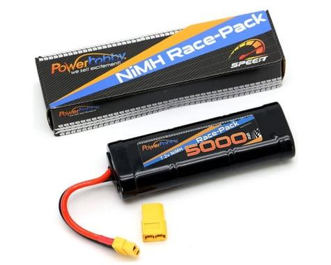 Power Hobby 7.2V 6-Cell 5000mAh NiMH Flat Battery Pack with XT60 & TRX HC Plug Adapter PHBPH1510