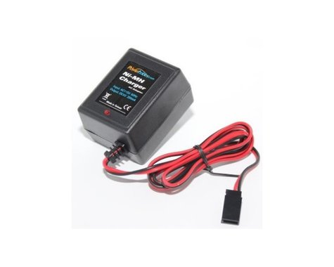 Power Hobby Receiver RX Nimh Hump / Flat Pack Battery Wall Charger PHBPH4002