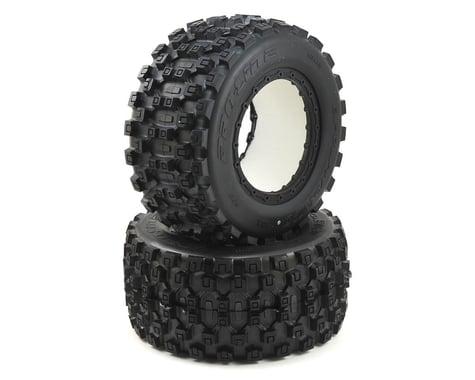 Pro-Line Pro-Loc X-Maxx Wheel Badlands MX43 Tires (2) PRO1013100