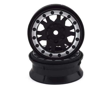 "ProLine Impulse 1.9"" Internal Bead-Loc Wheel Black/Silver PRO276913"