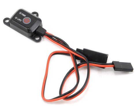 ProTek RC Electronic Switch w/Voltage Cutoff