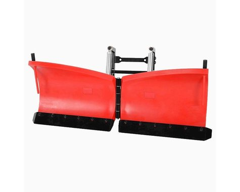 RC4WD Super Duty V Snow Plow Red RC4Z-X0045