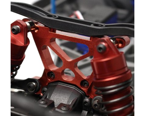 Racers Edge Slash 4WD Aluminum Front Shock Tower Red RCE1847R