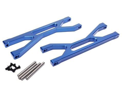 Racers Edge X-Maxx F/R Upper Suspension Arm Set Blue RCE1903BL