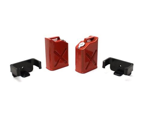 Racers Edge 1/10 Scale Plastic Gasoline Jugs (2) RCE3404