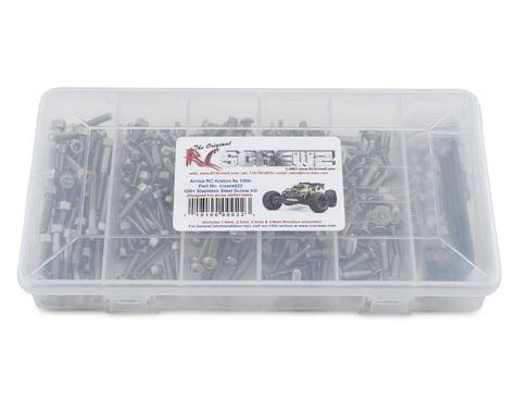 RC Screwz Stainless Steel Screw Kit for Arrma Kraton RCZARA022