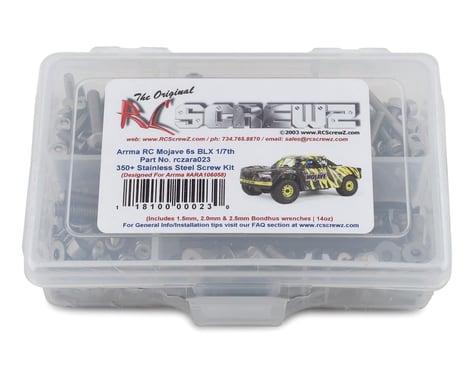 RC Screwz Stainless Steel Screw Kit for ARRMA MOJAVE 6S BLX RCZARA023