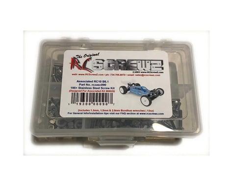 RC Screwz ASC RC10 B6.1 Stainless Steel Screw Set RCZASC090