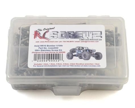 RC Screwz Stainless Steel Screw Kit 1/10 RR10 Bomber RCZAXI022