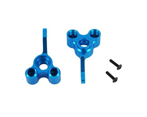 Redcat Racing Blue Aluminum Rear Hub Carrier Qty 2 RED02187