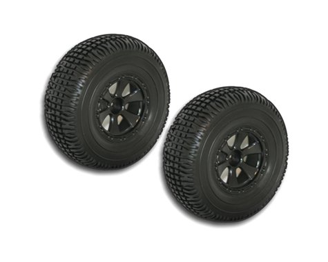 Redcat Racing Black Short Course Wheels and Tires REDBS804-001