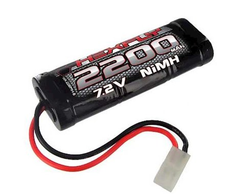 Redcat Racing 2200 NiMh Battery 7.2V with Tamiya Connector HX-2200MH-T REDHX-2200MH-T