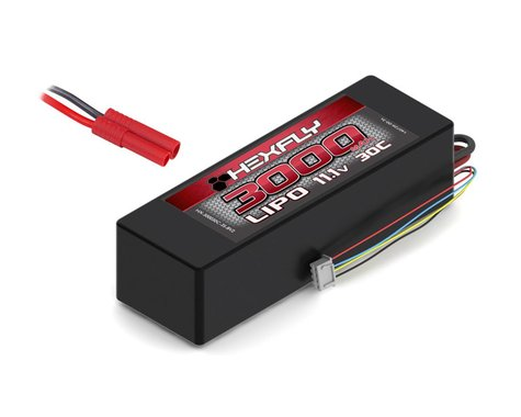 Redcat Racing LiPo Battery 3000mAh 30c 11.1V REDHX-300030C-3S-BV2