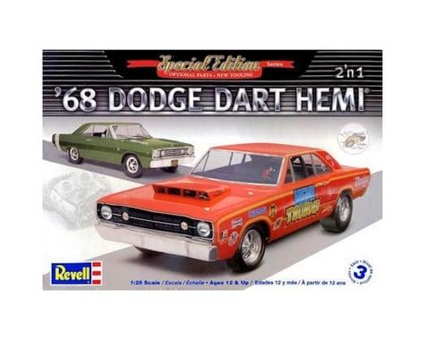 Revell 1/25 '68 Dodge Hemi Dart 2-n-1 Model RMX854217