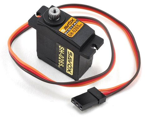 Savox Micro Digital MG High Voltage Servo .075/33 at 7.4V SAVSH0265MG