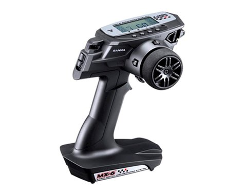 Sanwa MX-6 FH-E 3 Channel 2.4 GHz Radio System SNW101A32561A