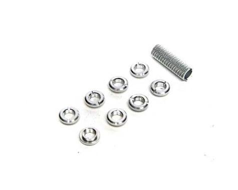 Spektrum Radio Switch Nuts & Wrench Silver SPMA1304