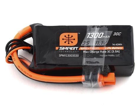 Spektrum 1300mAh 3S 11.1V Smart LiPo Battery 30C IC3 SPMX13003S30M