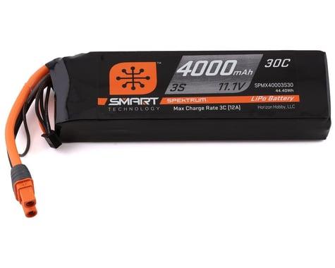 Spektrum IC3 30C 4000mAh 3S 11.1V Smart LiPo Battery SPMX40003S30