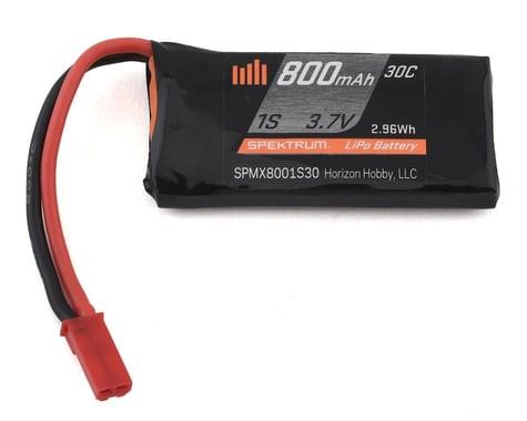 Spektrum JST 800mAh 1S 3.7V 30C LiPo Battery SPMX8001S30