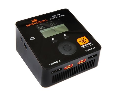 Spektrum S2100 2x100W Smart AC Charger SPMXC1010