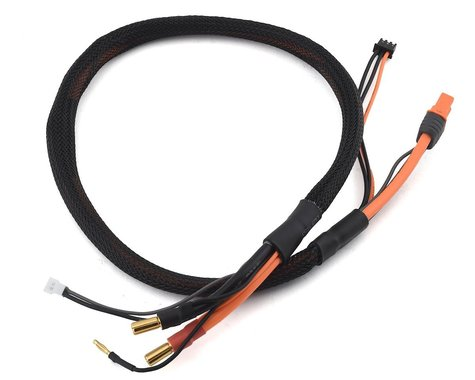Spektrum 5mm Bullet Smart Battery Charge Cable IC3 Battery SPMXCA316