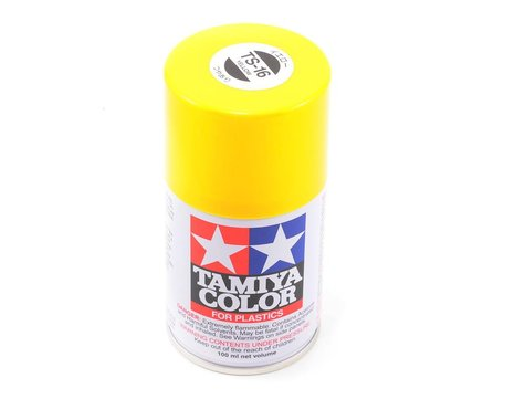 Tamiya Spray Lacquer TS16 Yellow 3 oz TAM85016