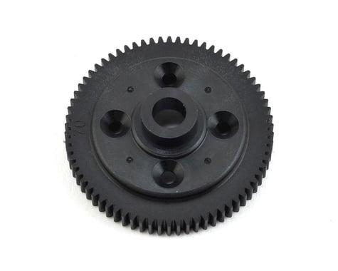 Tekno RC EB410 Spur Gear 70T 48P Composite Black TKR6670