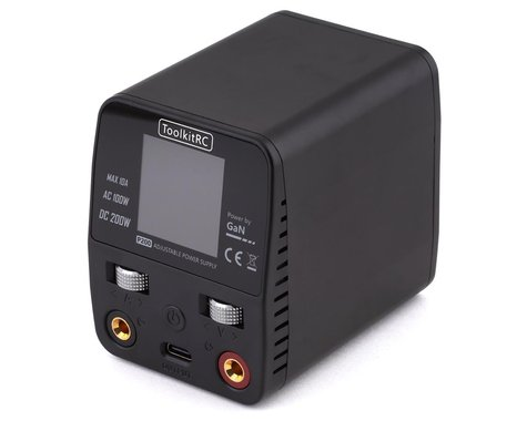 ToolkitRC P200 Adjustable Power Supply (30V/10A/200W)