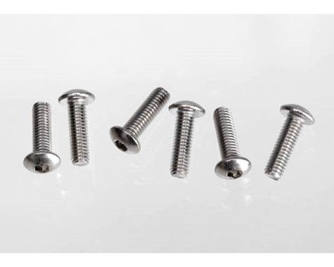 Traxxas 3x10mm Button-Head Machine Screws (6) TRA2577X